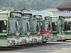 京都市バス/ 京都バス 導入年度別車