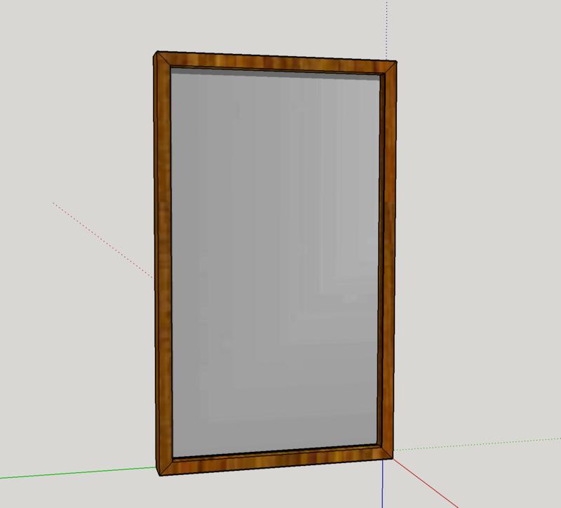Conseil fabrication cadre miroir clair for Miroir fabrication