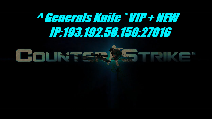 Generals Knife * VIP + NEW *