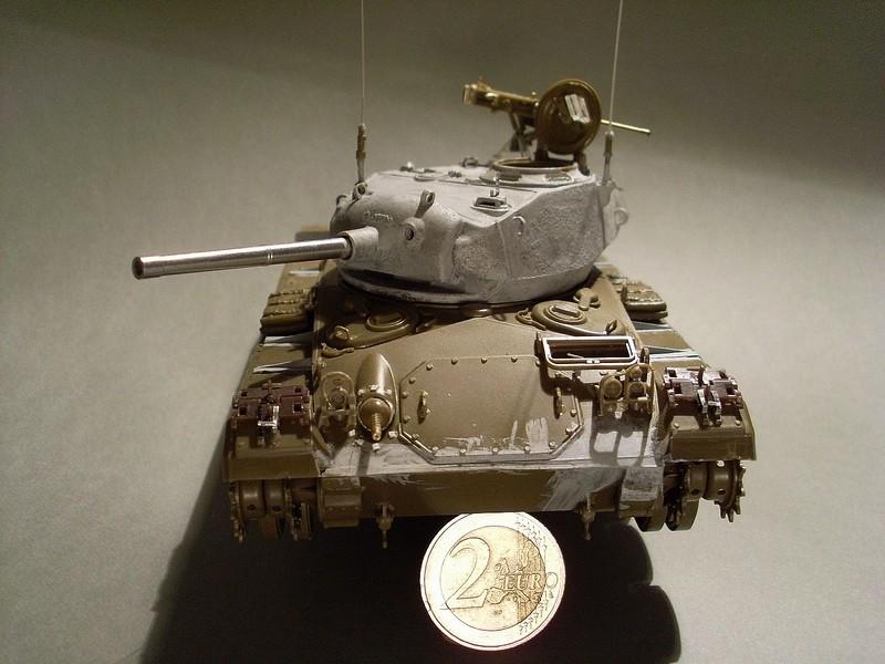 M 24 chaffee italeri 1 35 for L interieur du char de vimoutier