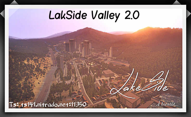Bienvenue sur le forum Lakeside Valley