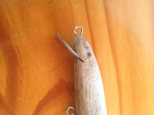 Fabrication dun leurre en bois flotté  ~ Fabrication Leurre Bois