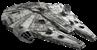 Montaje halcón milenario