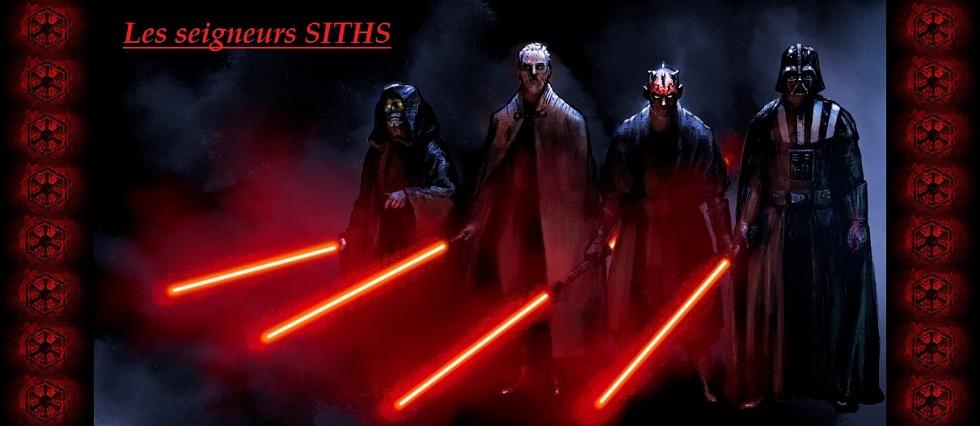 Les seigneurs Siths