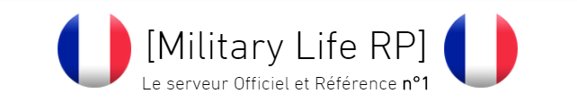 Forum Officiel [Military Life RP]