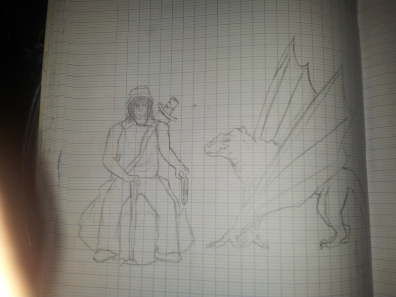 croquis personnage