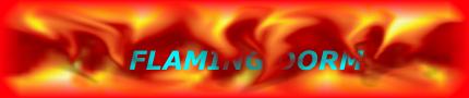 Flaming dorm