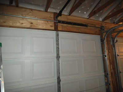 Garage Door Top Stiffener