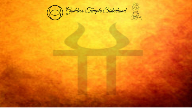 Goddess Temple Sisterhood